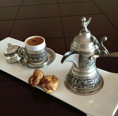 . Turkish Coffee Set, Arabic Coffee, Turkish Tea, Turkish Delight, Turkish Style, Mocha Smoothie, Coffee Service, Coffee Dessert, Black Coffee
