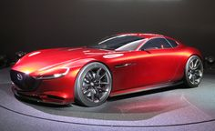 Mazda RX-Vision Concept: Rotary-Powered and Hot as Hell