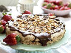 den beste snickerskaken A Food, Food And Drink, Let Them Eat Cake, Tiramisu, Sweet Treats, Pudding, Cookies, Baking, Ethnic Recipes