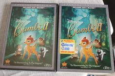 New Special Edition Bambi II Disney DVD