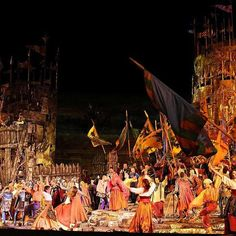 The Arena di Verona Festival is here :performing_arts: -- This opera festival has been taking place in this Roman amphitheater built in the first century every summer since 1936.