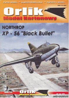 M1:33, XP-56 Black Bullet (Orlik 011)