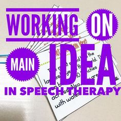 Do you work on Main Idea?  Check out how I approach working on this skill with my kids and the tips you may want to try.