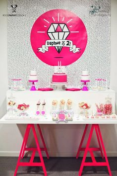 Little Big Company | The Blog: Shine Like A Diamond Party by Rock Paper Scissors