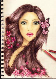 amazing art by Kristina webb Kristina Webb Drawings, Kristina Webb Art, Mark Rothko, Art Drawings, Drawing Faces, Amazing Drawings, Amazing Art, Tattoo Studio, Drawing Hair