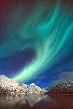 Alaska (September to April for the Northern Lights)