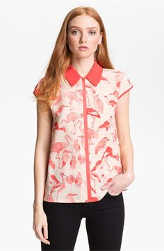 Ted Baker London Print Shirt (Online Only) available at #Nordstrom