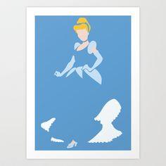 Cinderella - Cinderella Art Print by TracingHorses