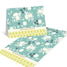 Delicate Floral Display - Stationery Note Cards