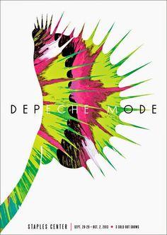 Depeche Mode Poster by Kii Arens. Tour Posters, Band Posters, Music Posters, Mode Poster, Gig Poster, Rock Y Metal, Graffiti, Poster Prints, Art Prints