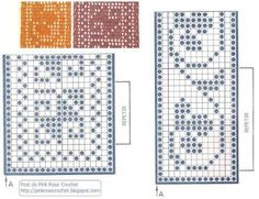 entremeios crochet graficos - Penelusuran Google