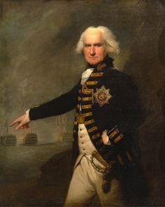 Admiral Lord Bridport, Lemuel Francis Abbott, 1795