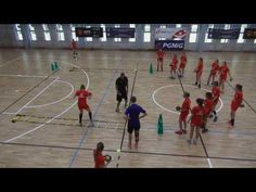 Condition and coordination exercises combined with shots by EHF Lecturer Peter Kovacs Free Basketball, Basketball Court, Pe Exercises, Volleyball Drills, Netball, Sports Training, Fitness, Youtube, Shots