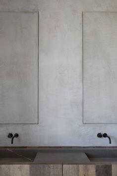 COCOON contemporary bathroom inspiration bycocoon.com | black fittings | stainless steel bathroom taps | inox taps | bathroom design products | renovations | interior design | villa design | hotel design | Dutch Designer Brand COCOON