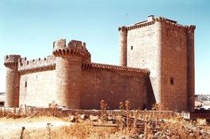 Castillo de Villafuerte. Valladolid
