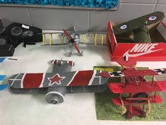 6th grade WWI projects