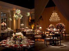 Decoração casamento rosa e verde mesa convidados mesa de doces tradicional (Decoração: Lais Aguiar   Foto: Demian Golovaty)