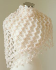 Bridal Bolero and Shrug,Bridal Shawl, Winter Wedding Shawl,Crochet shawl, Bridal cover up, Wrap, Pale Pink Shawl, Bridal Shower Gift