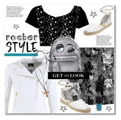 """Rocker style"" by svijetlana ❤ liked on Polyvore featuring FRACOMINA, Ash, Chiara Ferragni, Jewel Rocks, Gucci, rockerchic, polyvoreeditorial, rockerstyle and spfashion"