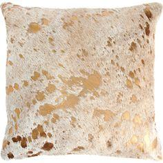 Gold Spot Pillow