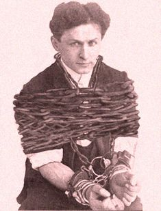 harry houdini's gorgeous forearms