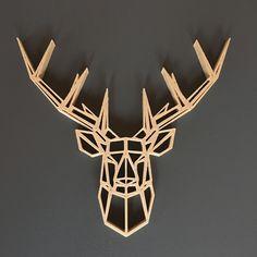 # Cerf #Deer #scultupre #wood #art