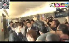 孔劉18:25來到台灣囉~  #稍早抵台機場畫面