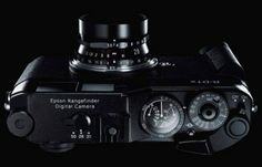 It's saying a lot for the appeal of Epson's digital rangefinder cameras - and for the love photo-pros have for them - that Epson don't need to make all too many Photo Lens, Classic Camera, Rangefinder Camera, Camera Equipment, Epson, Leica, Camera Lens, Binoculars, Digital Cameras