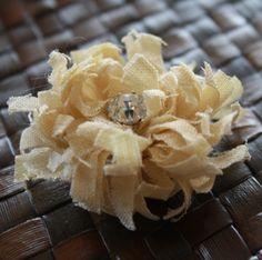 No Sew Chrysanthemum Flower Tutorial