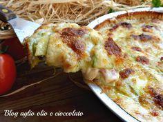 Tortino zucchine e patate, un piatto semplicissimo da fare, molto gustoso, ricco di sapore e tanto cremoso vi farà fare sempre un'ottima figura
