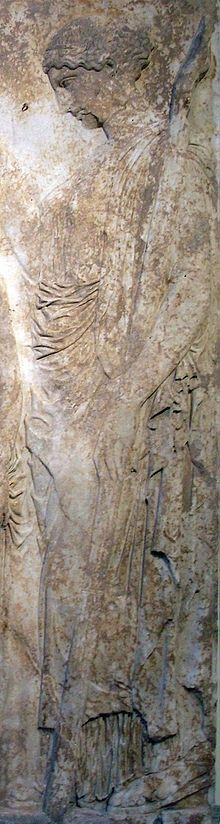 Etruscan Vestal virgin from the great Eleusinian relief The National Archaeological Museum, Athens Ancient Greek Art, Ancient Greece, Ancient History, Visions Of Johanna, Roman Gods, Greek Mythology, Roman Mythology, Hades And Persephone, Les Religions