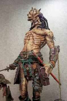 Samurai Predator by ~mangrasshopper on deviantART