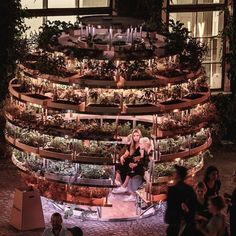 #Space10 and architects Mads-Ulrik Husum and Sine Lindholm designed a multi-sensory #pavilion to grow food inside the cities where people can grow their own foods smell taste and enjoy. Installed at last years Chart Art Fair in #Copenhagen the architects propose an alternative urban farming to provide a response to #food production system that people and suppliers are experiencing everyday. More images and full design story on  @wacommunity #design #art #installation #pavilion #installation…