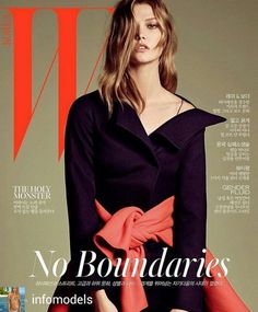 Karlie Kloss @Regrann from @infomodels - W Korea September 2016 : Karlie Kloss…