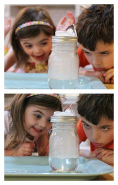 Have you ever done this experiment? How to make a cloud science experiment Have you ever done this experiment? How to make a cloud science experiment Science Experiments Kids, Science Fair, Science Lessons, Science Activities, Science Projects, Science Ideas, Steam Activities, Summer Activities, Kindergarten Science