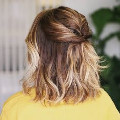 Balayage Celebrity Looks! My Hairstyle, Bride Hairstyles, Pretty Hairstyles, Straight Hairstyles, Balayage Hair, Ombre Hair, Mid Length Hair, Let Your Hair Down, Brunette To Blonde