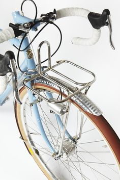 Robin Mather front rack detail