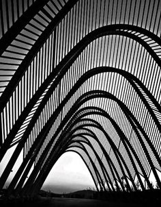 Santiago Calatrava and Félix Candela