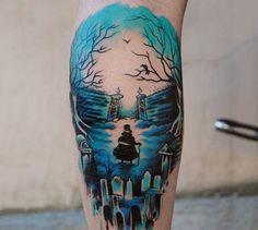 100 watercolor tattoo designs for men - cool ink ideas Faded Tattoo, Full Sleeve Tattoos, Leg Tattoos, Body Art Tattoos, Tatoos, Worlds Best Tattoos, Popular Tattoos, Georgia O'keeffe, Sketches