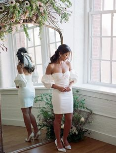 Our dream bride @cailaquinn in the Jennifer Behr Simone Bow Barrette & Marcella Earrings Shop her look at jenniferbehr.com Wedding Inspiration, Style Inspiration, Classic Wardrobe, Bridal Stores, Luxury Hair, Behr, Bridal Headpieces, Barrette, Bridal Looks