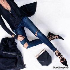 Erica Hoida:Новые образы от Fashion Stylist