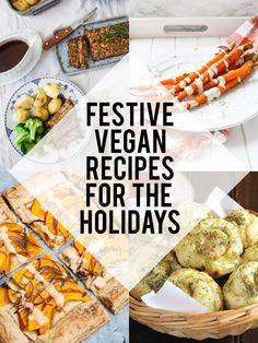 Festive Vegan Recipes for the Holidays (Thanksgiving & Christmas)   ElephantasticVegan.com