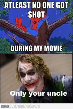 In your face spidey!!