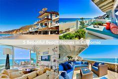 5 Beautiful Beach or Seaside Houses in California