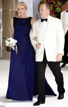 MYROYALS &HOLLYWOOD FASHİON - Prince Albert and Princess Charlene  attended the 66th Monaco Red Cross Ball Gala at Sporting Monte-Carlo in Monaco.