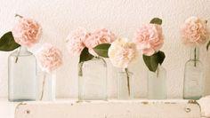 Dicas para Decorar sua Casa com Lindos Vasos de Flor de Garrada, Lâmpada, Copo e Pote. Faça você mesmo!