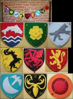 Game of Thrones Crafts - to focus that nervous energy about the season finale!