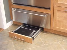 Smart Design - Toe Kick Step Stools — Kitchen and Bath Details