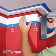 :: Havens South Designs :: Here is how to Install Crown Molding: Three-Piece Design
