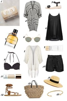 Beach and Pool outfit ideas from thedashingrider.com #summer #vacation #traveloutfit